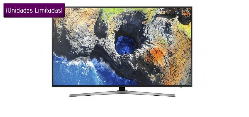 ¡CHOLLO! TV LED 65″ SAMSUNG UE65MU6192 4K Y SMART TV POR SÓLO 879,99€ Y ENVÍO GRATIS