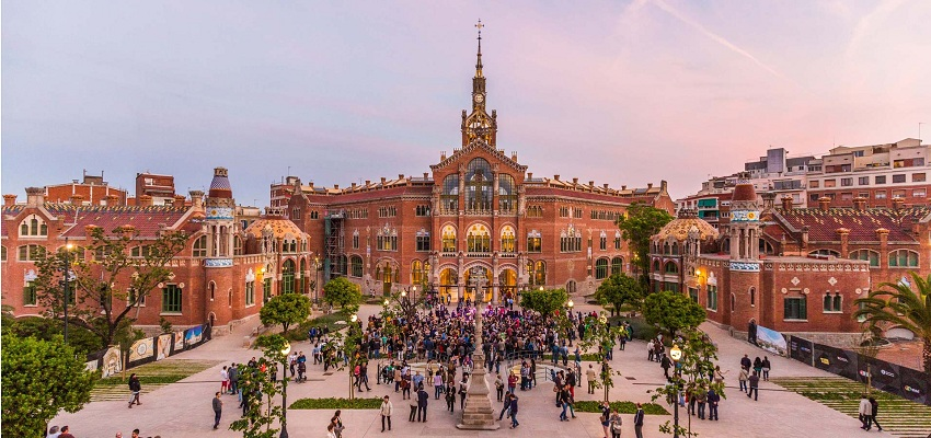 RECINTO MODERNISTA DE SANT PAU (BARCELONA): OFERTA EXCLUSIVA