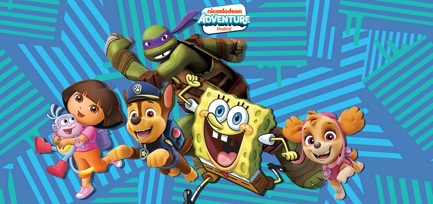 ENTRADAS Y DESCUENTOS PARA NICKELODEON ADVENTURE MADRID