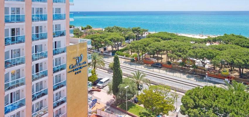 PENSIÓN COMPLETA EN MALGRAT DE MAR (BARCELONA): 7 NOCHES HOTEL 3* POR 122€