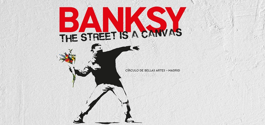 "ENTRADAS PARA LA EXPOSICIÓN "" THE STREET IS A CANVAS "" OF BANKSY (MADRID)"